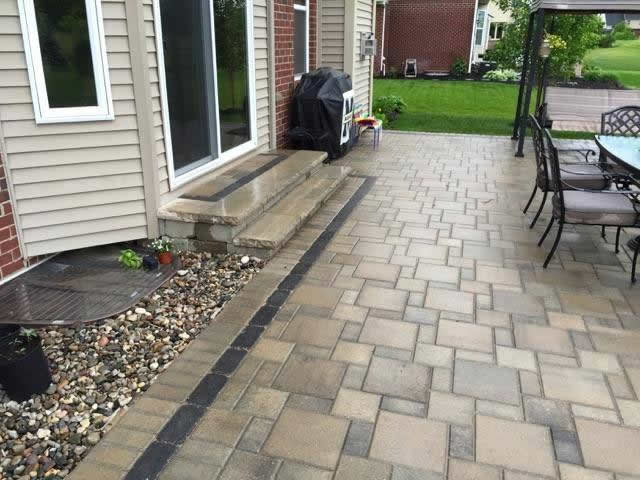 Brick Paver Installation Macomb County