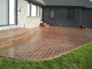 brick patios in Utica